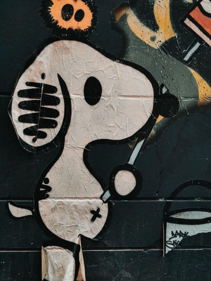 White Beagle Grafiti
